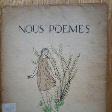 Libros antiguos: JOAN ARÚS. NOUS POEMES. SABADELL, 1924. CASTELLAR DEL VALLÈS. Lote 55040100