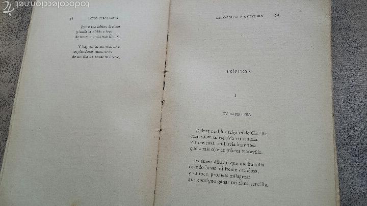 Libros antiguos: Melancolias y optimismos- Poesia-novelda- victor pérez belda- 1916 - Foto 4 - 56118170
