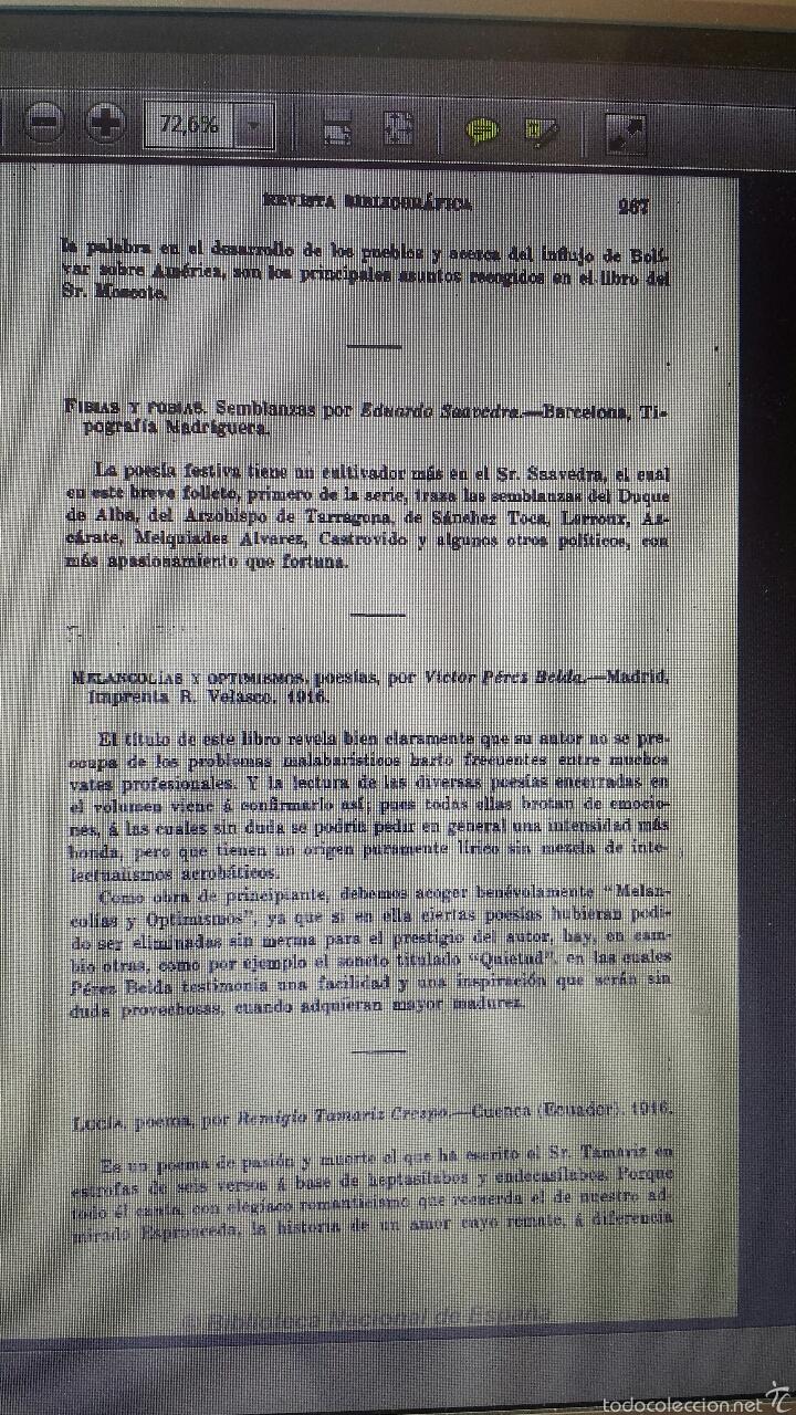 Libros antiguos: Melancolias y optimismos- Poesia-novelda- victor pérez belda- 1916 - Foto 6 - 56118170
