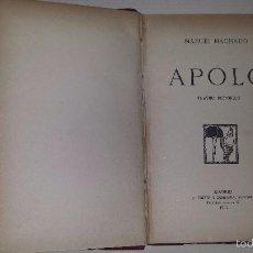 Libros antiguos: APOLO. TEATRO PICTÓRICO (1911) MANUEL MACHADO. Lote 56191795