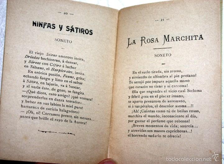 Libros antiguos: POESÍAS GOTAS BALSÁMICAS. PRIMERA EDICIÓN M. TIGERAS RAMÍREZ - Foto 3 - 56226108