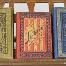 Libros antiguos: 7416 - EDITORIAL LA RENAIXENSA. 3 VOLUM(VER DESCRIP). VV. AA. 1878-1882.. Lote 56276549