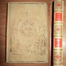 Libros antiguos: ECOS DE LAS MONTAÑAS : LEYENDAS HISTÓRICAS / POR DON JOSÉ ZORRILLA ; ILUSTRADAS POR GUSTAVO DORÉ. Lote 56499072