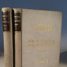 Libros antiguos: ZORRILLA, GRANADA POEMA ORIENTAL 1895. 2 VOLÚMENES. Lote 56572228