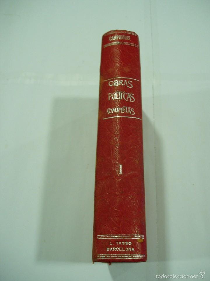Libros antiguos: POESIAS COMPLETAS DE CAMPOAMOR.TOMOI 1900 - Foto 4 - 56723126