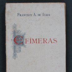 Libros antiguos: EFÍMERAS. CONFIDENCIAS. PARÁFRASIS. POEMAS ÍNTIMOS. FRANCISCO A. DE ICAZA. Lote 56825194