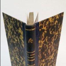 Libros antiguos: 1882 - ENRIQUE SIERRA Y RIVAS - PRIMERAS IMPRESIONES. Lote 56966759