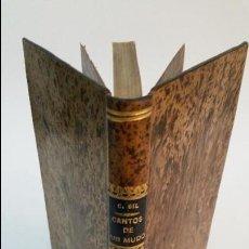 Libros antiguos: 1882 - CONSTANTINO GIL - CANTOS DE UN MUDO. Lote 56967060