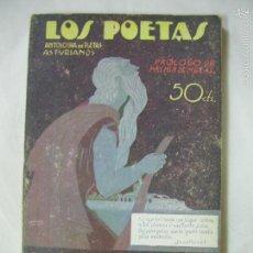 Libros antiguos: LOS POETAS -ANTOLOGIA DE POETAS ASTURIANOS - JOVELLANOS, CAMPOAMOR, P. DE AYALA,. - Nº 57 - AÑO 1929. Lote 57073455