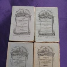 Libros antiguos: TESORO DE LA POESIA CASTELLANA: SIGLO XVI, XVII, XVIII Y XIX. 4 TOMOS. 1874-1877. Lote 57511159