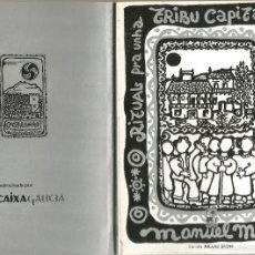 Livros antigos: RITUAL PARA UNHA TRIBU CAPITAL DE CONCELLO. Lote 57695758