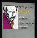 Libros antiguos: EZRA POUND .COL. MALDOROR - LABOR - CONFUCIO. LUN YU. LAS ANALECTAS. TA HSIO. CHUNG YUNG. Lote 57729757
