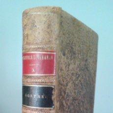 Libros antiguos: HERMANN Y DOROTEA, POEMA. POESIAS VARIAS- GOETHE. EDITORIAL REUS. MADRID, 1924. Lote 57746501