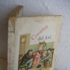 Libros antiguos: CUENTOS DEL AVI SERAFÍ PITARRA. Lote 57775664