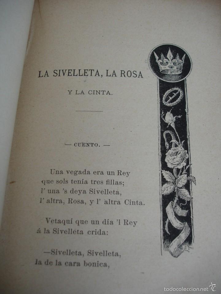 Libros antiguos: Cuentos del Avi Serafí Pitarra - Foto 3 - 57775664