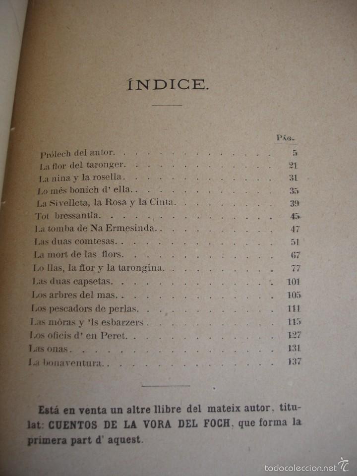 Libros antiguos: Cuentos del Avi Serafí Pitarra - Foto 6 - 57775664