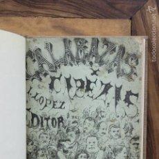 Libros antiguos: CALABAZAS Y CABEZAS, RETRATOS AL PASTEL EMBADURNADOS POR... ASENSIO DE ALCÁNTARA, Y MENA, 1865.. Lote 57995905