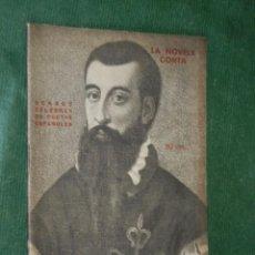 Libros antiguos: VERSOS CELEBRES DE POETAS ESPAÑOLES, - LA NOVELA CORTA 1921. Lote 58008078