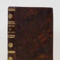 Libros antiguos: POESÍAS DE D. MANUEL JOSEF QUINTANA. MADRID, IMPRENTA NACIONAL 1813. EN PLENA PIEL. PAPEL MUY LIMPIO. Lote 58277554