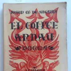 Libros antiguos: EL COMTE ARNAU. 1928. JOSEP Mª DE SAGARRA.. Lote 58403131
