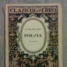 Libros antiguos: POESIA.. Lote 58587706