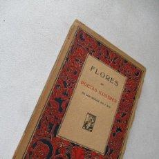 Libros antiguos - FLORES DE POETAS ILUSTRES DE LOS SIGLOS XVI Y XVII-S/F.- PROMETEO- - 59430540