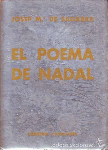 SAGARRA, JOSEP Mª DE: EL POEMA DE NADAL. XILOGRAFIES D'ENRIC C. RICART. 1931 (Libros antiguos (hasta 1936), raros y curiosos - Literatura - Poesía)