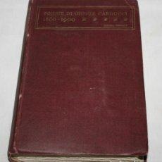 Libros antiguos: POESIE DI GIOSUE CARDUCCI 1850 1900, NICOLA ZANICHELLI 1921, CON COPIA DE CARTAS, LIBRO ANTIGUO. Lote 63125808