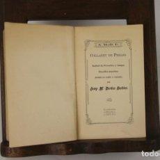 Libros antiguos: 5131- COLLRET DE PERLES. JOSEP Mª BORDAS. TIP. LLEVANT. 1912. DEDICADO.. Lote 45197839