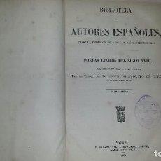 Libros antiguos: POETAS LÍRICOS DEL SIGLO XVIII. BIBLIOTECA DE AUTORES ESPAÑOLES. COLECCIÓN COMPLETA (3 TOMOS,1869). Lote 64610807