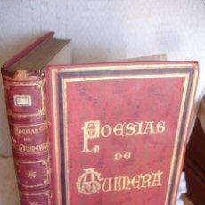Libros antiguos: POESIAS DE ANGEL GUIMERA 1870-1887. Lote 65768422