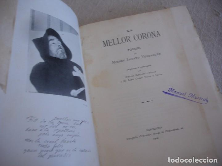 Libros antiguos: Jacinto verdaguer: la mellor corona - Foto 2 - 65771894