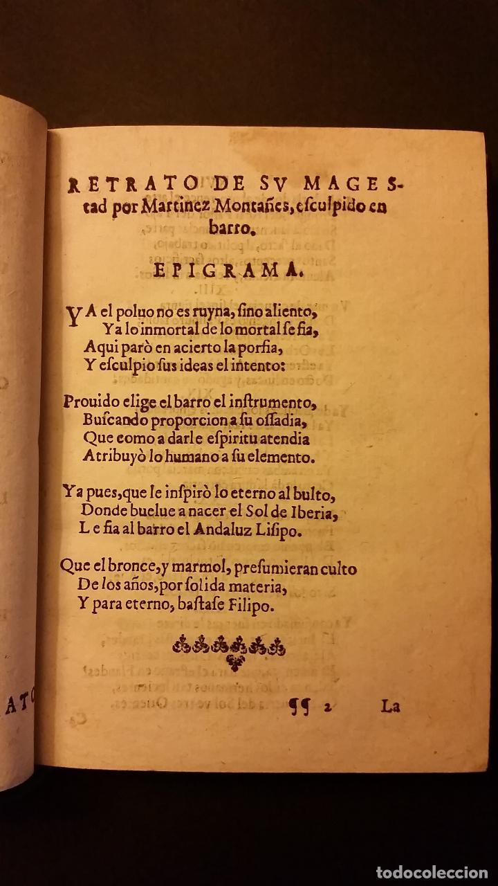 Libros antiguos: 1637 - GABRIEL BOCÁNGEL - LIRA DE LAS MUSAS, DE HUMANAS Y DIVINAS VOZES, JUNTO CON LAS DEMAS OBRAS - Foto 6 - 67971673