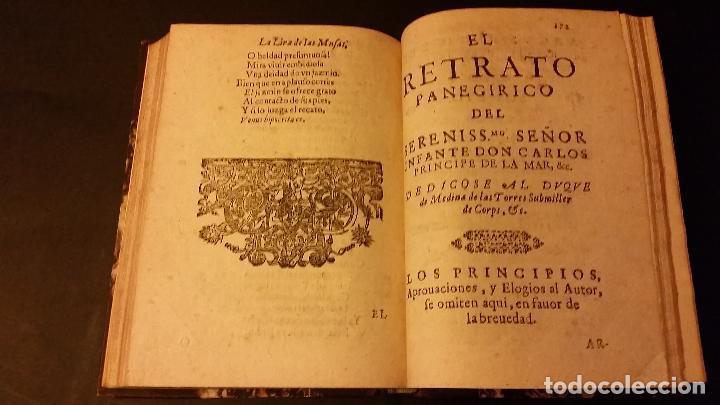 Libros antiguos: 1637 - GABRIEL BOCÁNGEL - LIRA DE LAS MUSAS, DE HUMANAS Y DIVINAS VOZES, JUNTO CON LAS DEMAS OBRAS - Foto 13 - 67971673