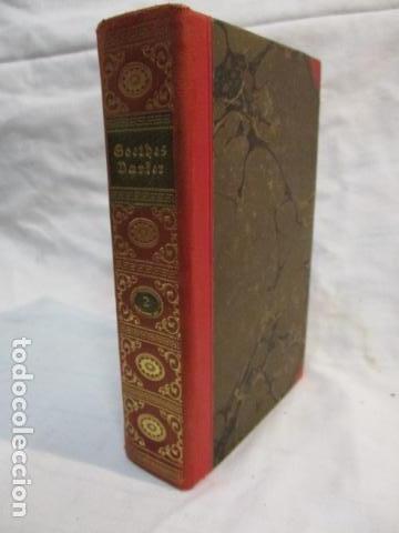 Libros antiguos: Goethes Vaerker ved P. A. Rosemberg - (en Danés - ver fotos) 4 volumenes - Foto 4 - 67993137