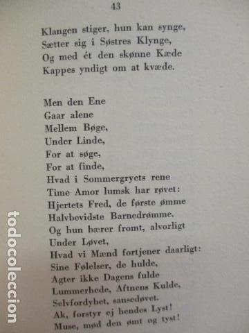 Libros antiguos: Goethes Vaerker ved P. A. Rosemberg - (en Danés - ver fotos) 4 volumenes - Foto 8 - 67993137