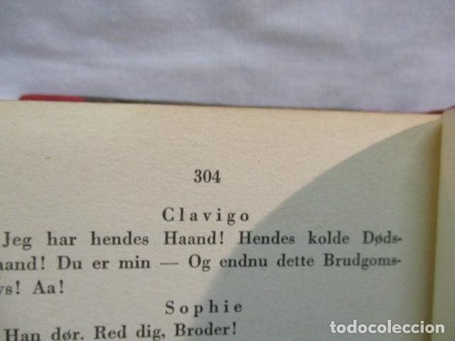 Libros antiguos: Goethes Vaerker ved P. A. Rosemberg - (en Danés - ver fotos) 4 volumenes - Foto 12 - 67993137