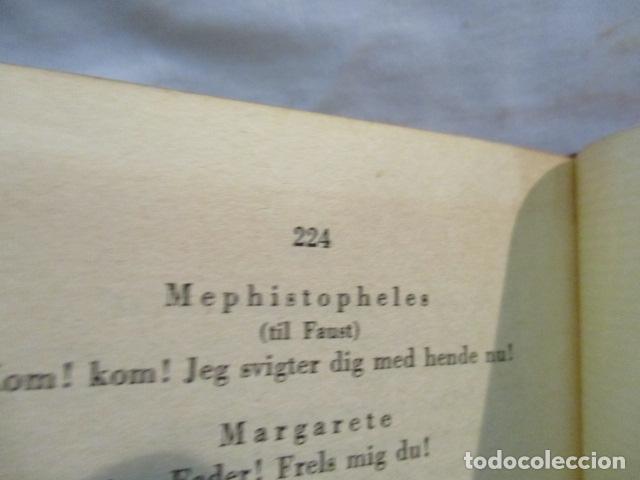 Libros antiguos: Goethes Vaerker ved P. A. Rosemberg - (en Danés - ver fotos) 4 volumenes - Foto 19 - 67993137