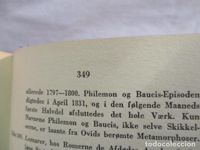 Libros antiguos: Goethes Vaerker ved P. A. Rosemberg - (en Danés - ver fotos) 4 volumenes - Foto 22 - 67993137