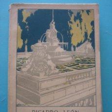 Libros antiguos: POESIA - ALIVIO DE CAMINANTES - RICARDO DE LEON - 1912 - 2ª EDICION - EN MUY BUEN ESTADO - INTONSO. Lote 68059521