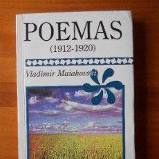 Libros antiguos: POEMAS (1912-1920) - VLADIMIR MAIAKOVSKI - EDICIONES COYOACAN (D1). Lote 68464041