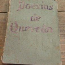 Libros antiguos: POESÍAS DE D. FRANCISCO GÓMEZ DE QUEVEDO Y VILLEGAS - MADRID 1864 LIBRO DE ORO. Lote 69591585