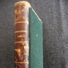 Libros antiguos: VIBRACIONES (1874, 1A ED), EL ÚLTIMO SUEÑO (1882, 2A ED) Y UN LIBRO (1878, 1A ED).. Lote 69829005