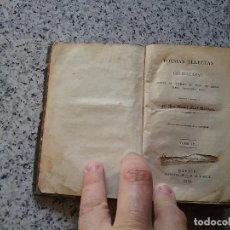 Libros antiguos: POESÍAS DE QUINTANA, TOMO IV, 1830. Lote 70201401