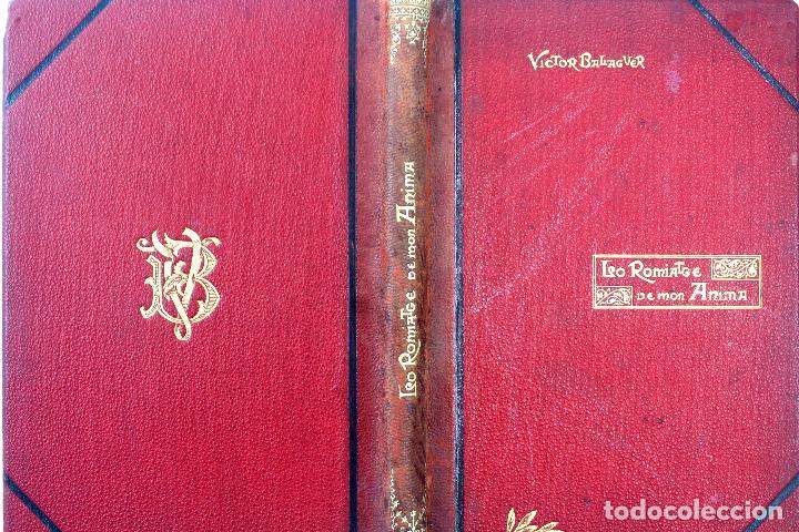 Libros antiguos: L-3666. LO ROMIATGE DE MON ANIMA /LA ROMERIA DE MI ALMA. VICTOR BALAGUER. ED. BILINGÜE. 1897 - Foto 2 - 71176221