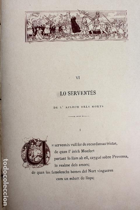 Libros antiguos: L-3666. LO ROMIATGE DE MON ANIMA /LA ROMERIA DE MI ALMA. VICTOR BALAGUER. ED. BILINGÜE. 1897 - Foto 12 - 71176221