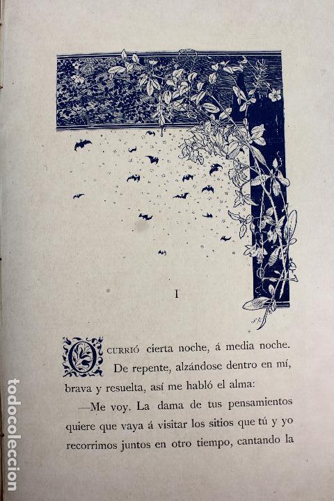 Libros antiguos: L-3666. LO ROMIATGE DE MON ANIMA /LA ROMERIA DE MI ALMA. VICTOR BALAGUER. ED. BILINGÜE. 1897 - Foto 14 - 71176221