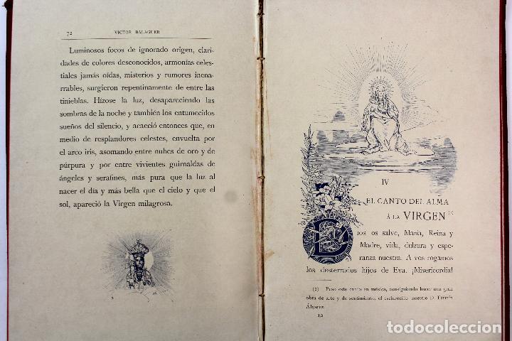 Libros antiguos: L-3666. LO ROMIATGE DE MON ANIMA /LA ROMERIA DE MI ALMA. VICTOR BALAGUER. ED. BILINGÜE. 1897 - Foto 15 - 71176221