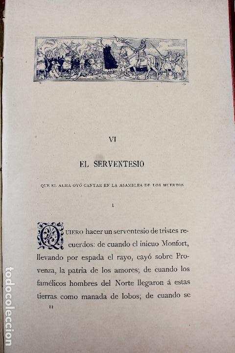 Libros antiguos: L-3666. LO ROMIATGE DE MON ANIMA /LA ROMERIA DE MI ALMA. VICTOR BALAGUER. ED. BILINGÜE. 1897 - Foto 16 - 71176221
