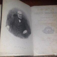 Libros antiguos: COLECCIÓN DE POESÍAS ORIGINALES POR ANDRÉS BELLO, APUNTES BIOGRÁFICOS POR J.M TORRES CAICEDO (1870). Lote 71850115